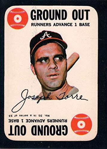Baseball MLB 1968 Topps Game #31 Joe Torre - Topps Game 1968