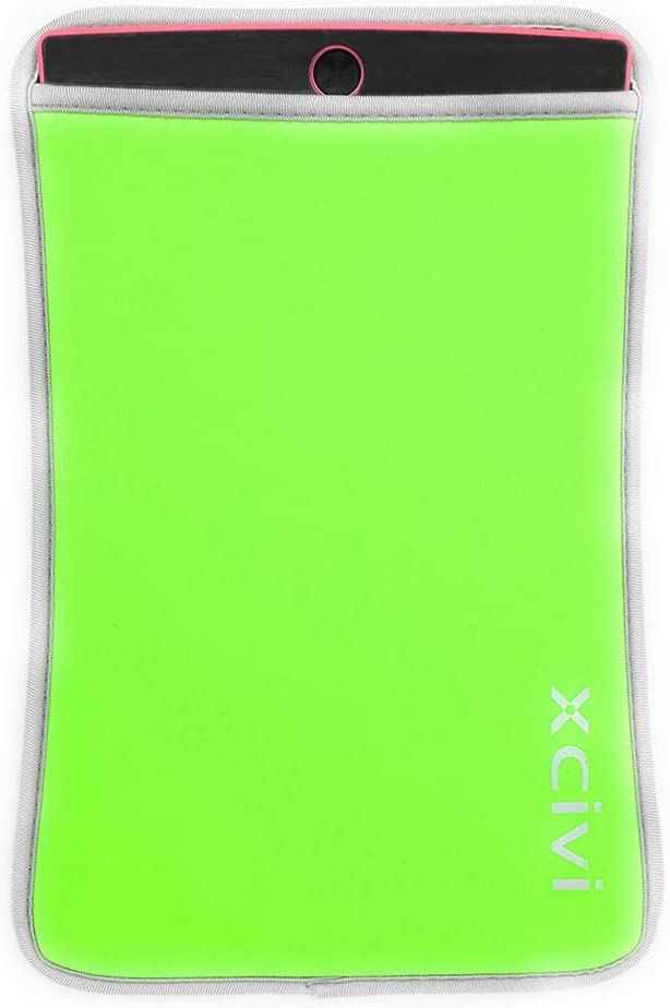 Neoprene Sleeve Case for 8.5 inches LCD eWriter Writing Tablet (Green)