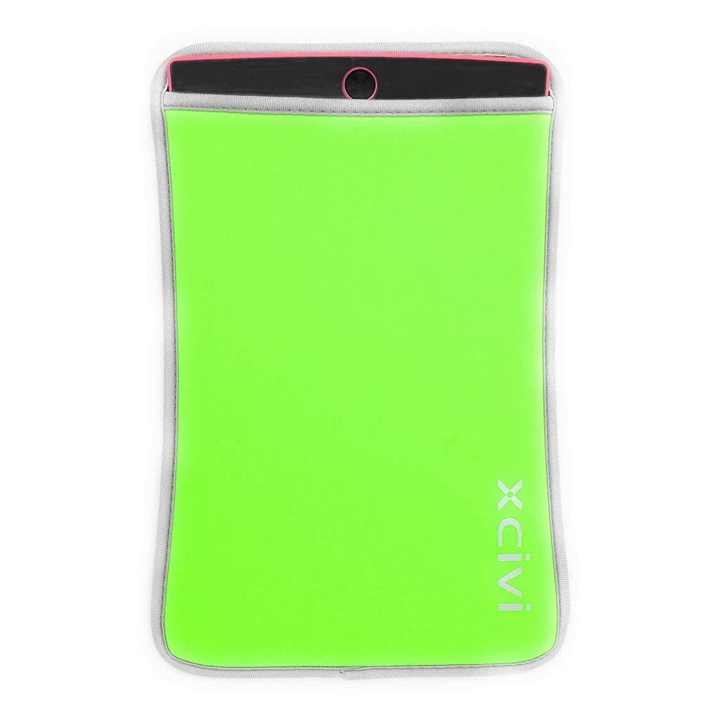 Green Neoprene Sleeve Case for 8.5 inches LCD eWriter Writing Tablet