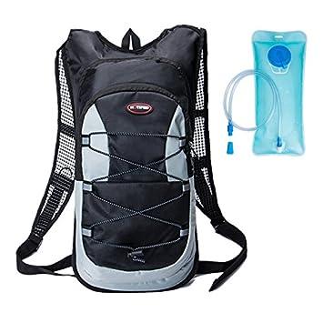 haoyk 12L impermeable mochila ligera bolsa de hidratación deporte bolsa de agua (2L