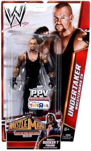 Mattel WWE Wrestling Best of Pay-Per-View 2013 Wrestlemania 29 Basic Action Figure Undertaker [Build Booker T]