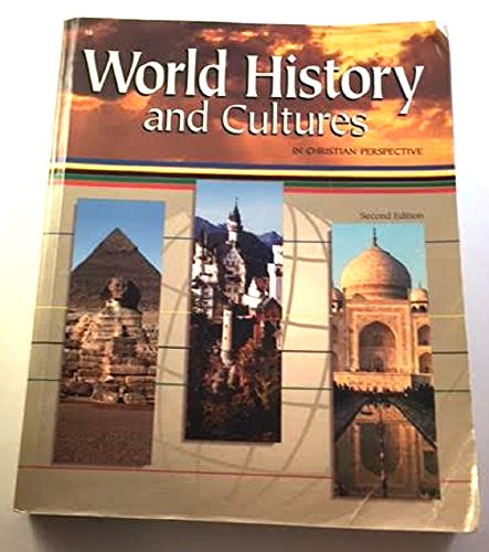 World History and Cultures in a Christian Perspective for sale  Delivered anywhere in USA