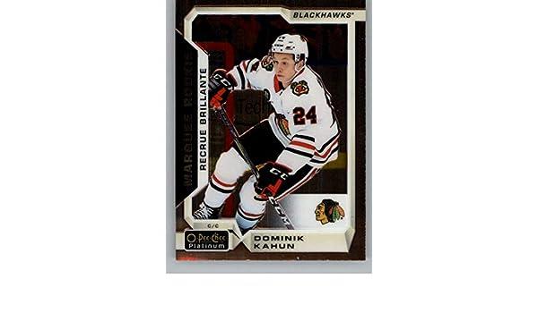 7f7aa57cbbda8 Amazon.com: 2018-19 O-Pee-Chee Platinum Hockey #176 Dominik Kahun RC ...