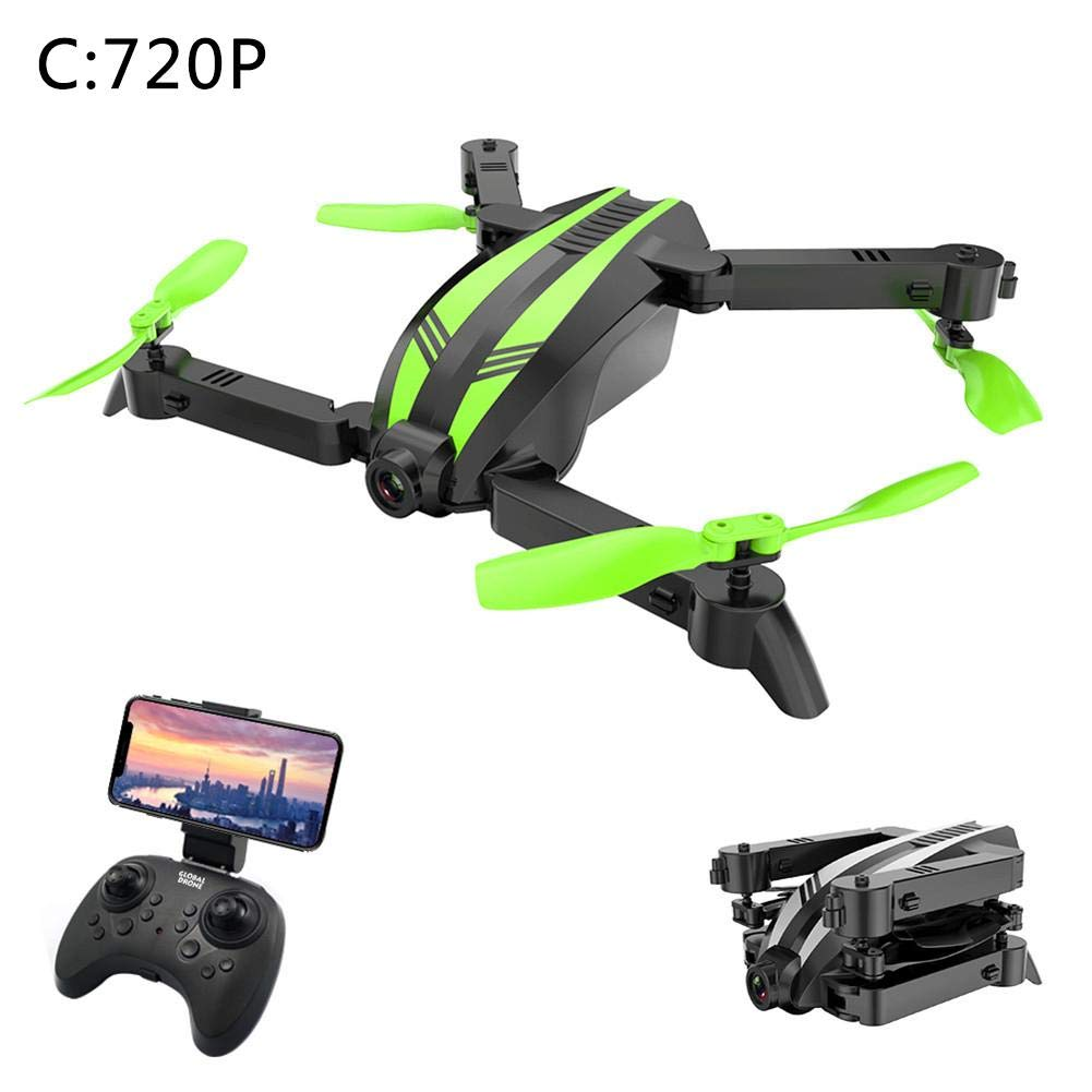 Remote Control Aircraft GW68 Mini Drone Folding Aerial Vehicle Remote Control Aircraft WiFi Quadcopter