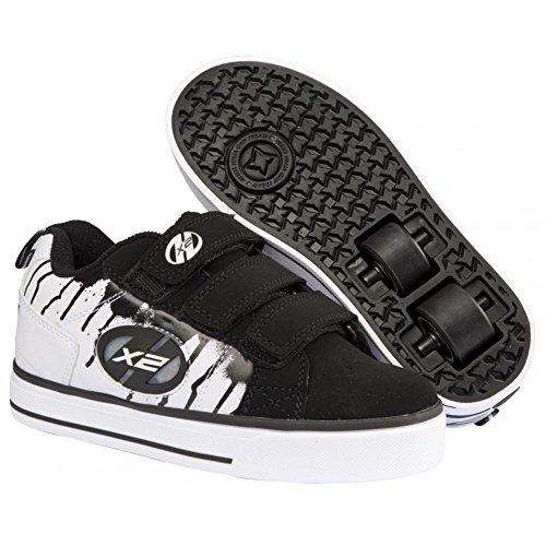 Heelys Speed (770076) Unisex-Kinder Sneaker schwarz weiss