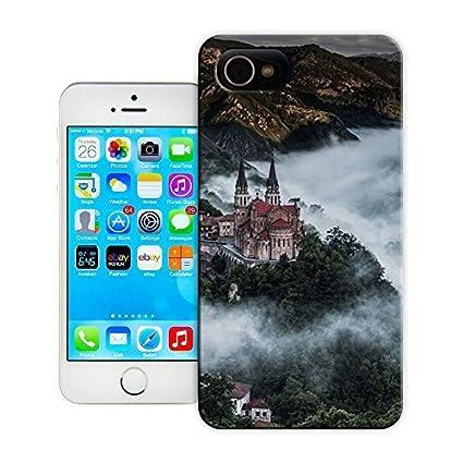 Amazon.com: Unique Phone Case Landscape Above the Fog ...