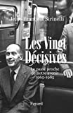 img - for Les vingt d cisives 1965-1985 : Le pass  proche de notre avenir book / textbook / text book