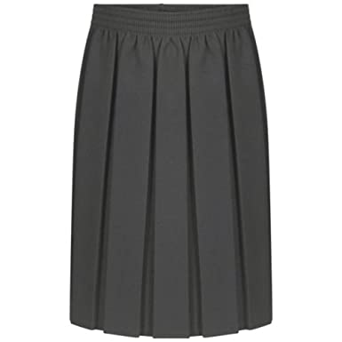 Falda de Cintura elástica Plisada para Uniforme Escolar para niñas ...