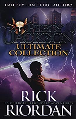 Percy Jackson and the Olympians Series by Rick Riordan