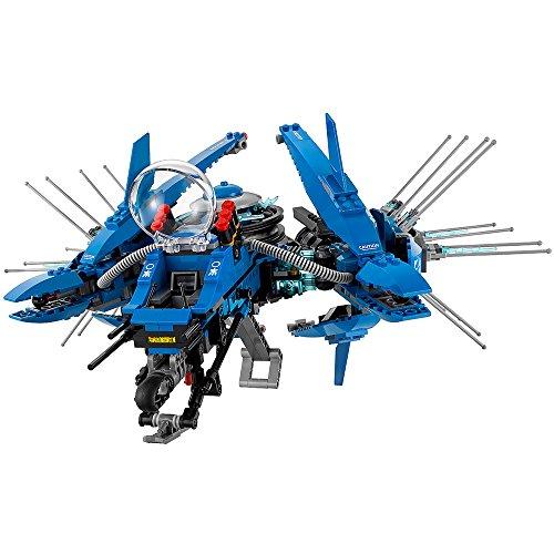 51s8EXYX8gL - LEGO Ninjago Movie Lightning Jet 70614 Building Kit (876 Piece)