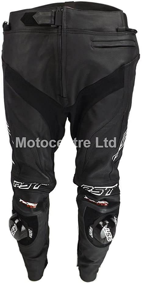 Black 28 Trousers RST Tractech Evo II Leather Motorcycle Jeans