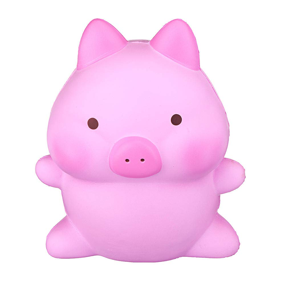 Giant Piggy Squishy 26cm Swine Kawaii Pink Pig Scented Slow Rising Rebound Jumbo Cute Toys by Unknown