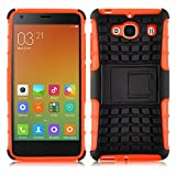 iPhone 5C Case - ALLIGATOR Heavy Duty Rugged Double Protection Back Cover for iPhone 5C, Orange