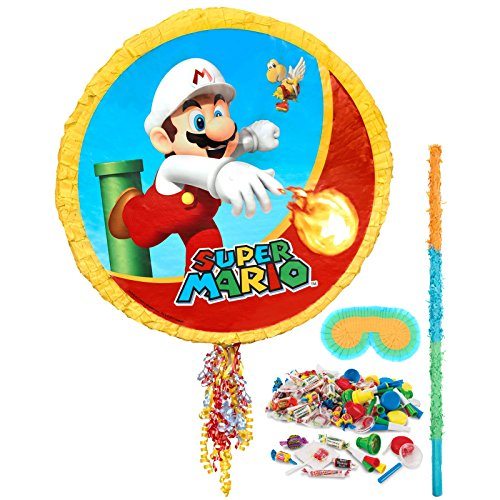 Costume Supercenter BBPK163 Mario Bros Pinata Kit