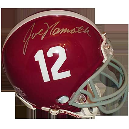 1f89cf244 Image Unavailable. Image not available for. Color  Joe Namath Autographed  ...