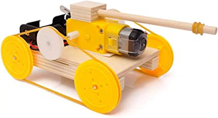 Kids DIY Stem Tank Toy for Science Experiments /& Circuit Building Projects