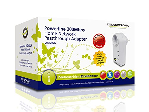CONCEPTRONIC CPNP200IS POWERLINE ADAPTER WINDOWS XP DRIVER