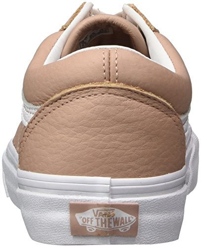 Mahogany Blanc Leather Old Damen Rose Leather Skool Mahogany Rose Sneaker White True Vans True Pink Tumble 8q7pxU