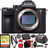 Sony Alpha a7R III Mirrorless Digital Camera + Base Kit with Accessories (128GB Memory Card, Accessory Kit)