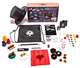 Kids Magic set - 150 tricks and illusions w/ magic wand. magician's hat &drawstring backpack
