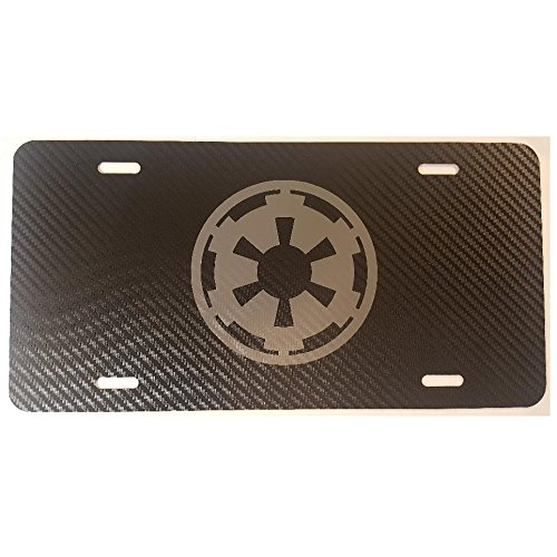 star wars imperial license plate - 1