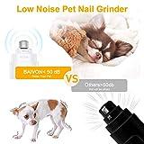 BAIVON Dog Nail Grinder, Upgraded Professional
