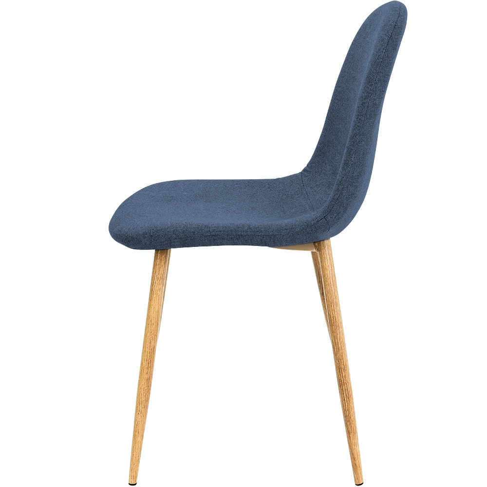 Deuba 4X Design Stuhl Esszimmerstühle Küchenstuhl 50cm Sitzhöhe ...