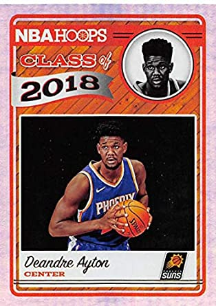 best sneakers 7968e 1c62b Amazon.com: 2018-19 NBA Hoops Class of 2018 Holo #1 Deandre ...