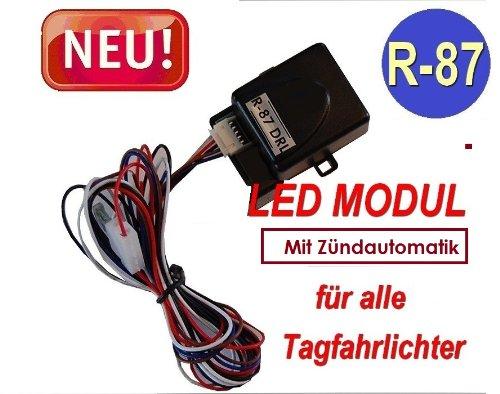BLUETECH STEUERMODUL F/ÜR LED TAGFAHRLICHT.MIT Z/ÜNDAUTOMATIK gem R-87 OVP