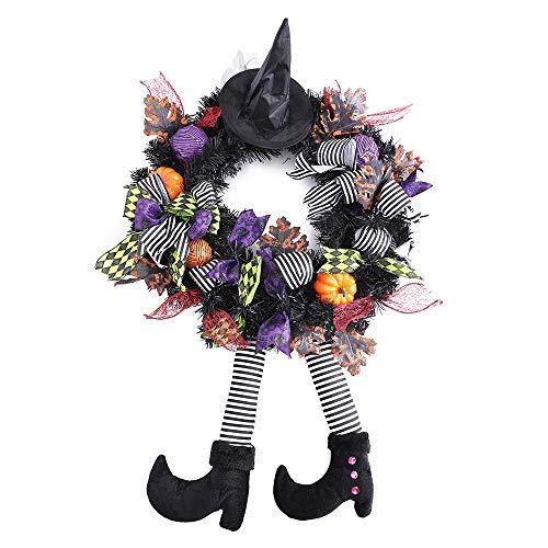 Mesh Wreaths For Halloween (wlflash 24