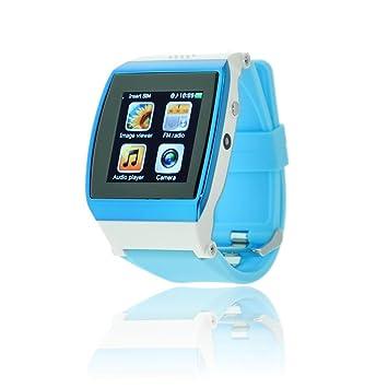 CursOnline ultimissima versión Reloj Teléfono Smartphone universal IOS, Android, Windows Phone, Legge SIM