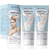 2 Pack Whitening Cream Bleaching Cream, Body Cream for Armpit, Knees, Elbows, Sensitive and Private Areas
