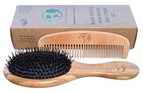 boars hair brush set - 9