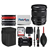 Sigma 24-105mm f/4 DG OS HSM Art Lens for Canon EF + 32GB Memory Card + USB Card Reader + 72'' Monopod + 24 Slot Memory Card Hardcase + Lens Bands + Lens Cleaning Pen + Dust Blower + Photo4Less Cloth