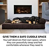 Furhaven Pet Dog Bed | Therapeutic Traditional