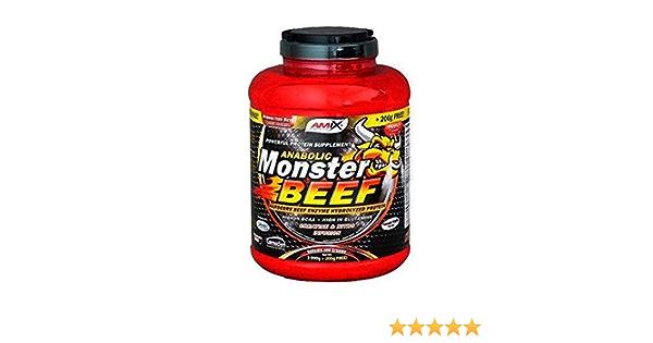 MONSTER BEEF 2 KG+200 GR GRATIS Fresa-platano