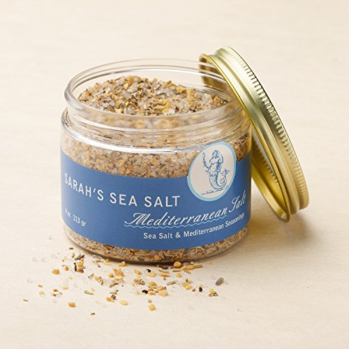 Sarah's Sea Salt, Mediterranean 4 oz. by Coastal Goods