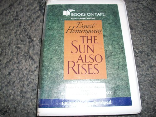 the-sun-also-rises-by-ernest-hemingway-special-library-edition-7-audio-cassettes-read-by-alexander-a