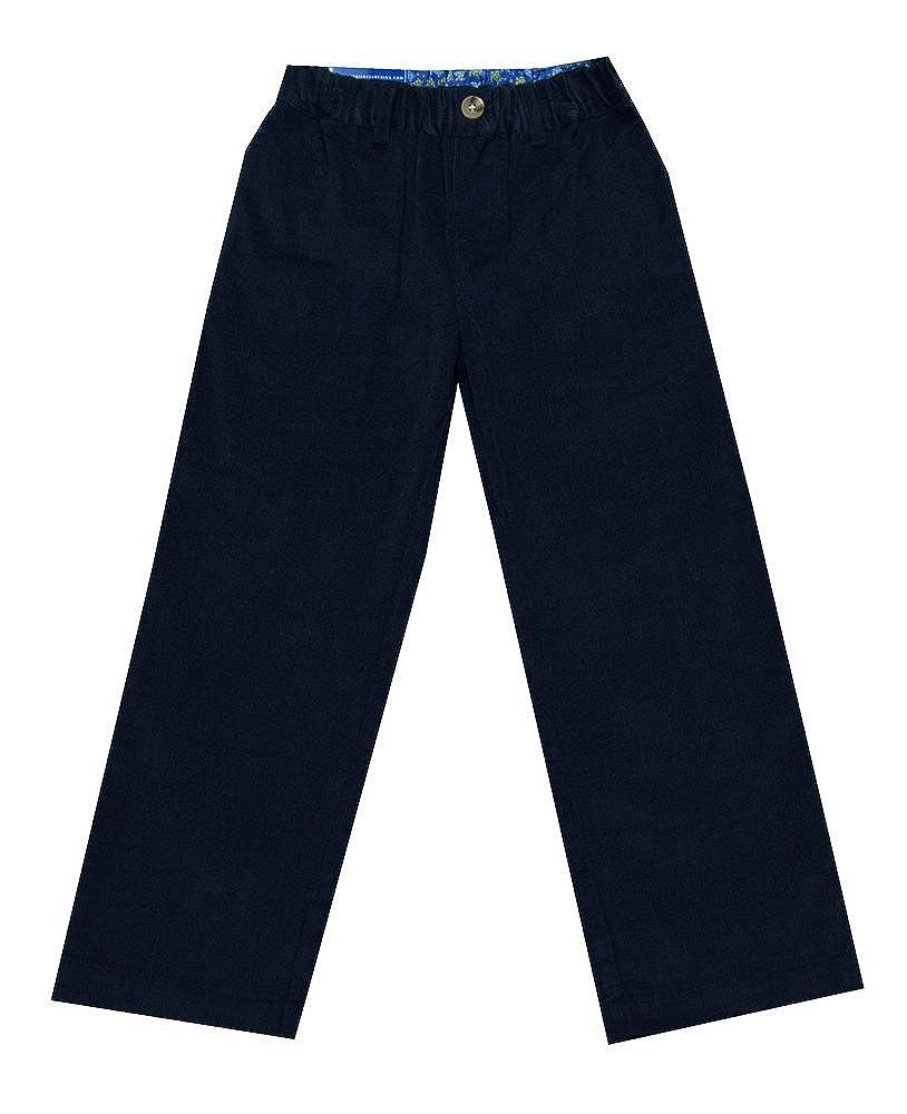 Bailey Navy Corduroy Pants by J