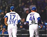 Anthony Rizzo & Kris Bryant Chicago Cubs Autographed Signed 8 x 10 Photo -- COA - (Mint Condition)