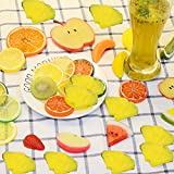 IETONE 10 Pcs Realistic Artificial Fruit, Lifelike