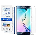 Galaxy S6 Edge Plus Screen Protector,Galaxy S6 Edge Plus Tempered Glass Screen Protector,Thinkcase Full Coverage Screen Protector for Samsung Galaxy S6 Edge Plus