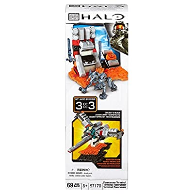 Mega Bloks Halo Build and Combine Forerunner Terminal: Toys & Games