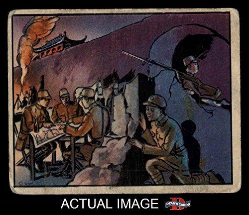 1938 Gum Inc. Horrors of War # 171 Little Devil Learns Jap Military Secrets (Card) Dean's Cards 2 – GOOD