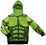 Marvel Avengers the Incredible Hulk Big Boys Character Hoodie Size S (5/6) or Size: 6/7