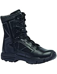 Tactical Research Belleville 998Z WP Chrome Side Zip Waterproof 8 Inch Boot, 10