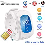 Smart Watch for Kids,GPS Tracker Smart Watch Pedometer with SOS Call Anti-Lost Alarm