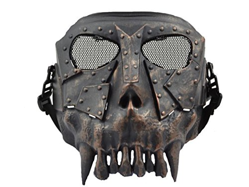 Softair Protektor Dessert Beast Maske (brushed metal)
