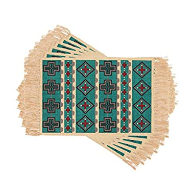Placemats in Western, Native American, and Southwestern Designs. Set of 6. (164)