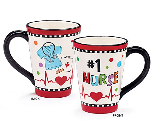 Number One Nurse Ceramic Coffee product image